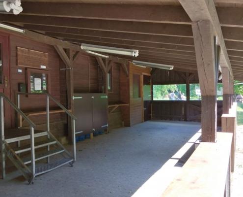 Außenbereich Angelhütte